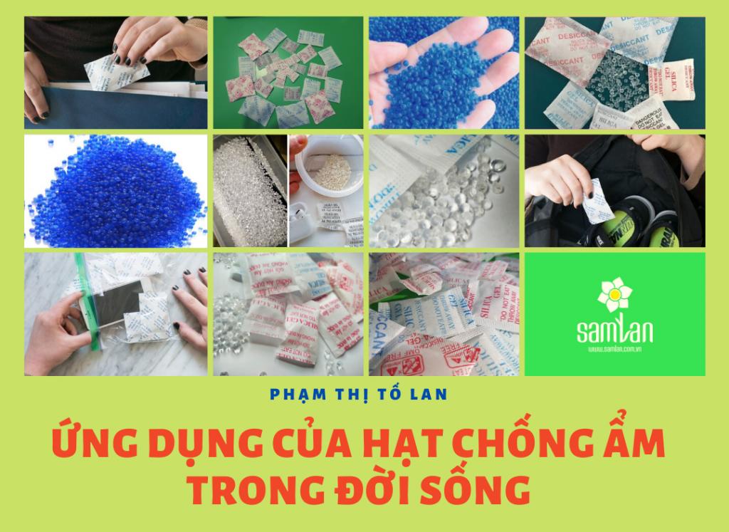 ứng dụng của hạt chống ẩm silica gel