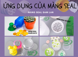 ứng dụng của màng seal nhôm cho sản phẩm